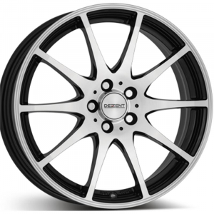 Cerchi in lega  DEZENT  TI dark  15''  Width 6   5x112  ET 40  CB 70,1    Black/polished