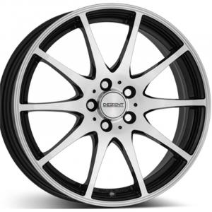 Cerchi in lega  DEZENT  TI dark  16''  Width 6,5   5x108  ET 50  CB 70,1    Black/polished