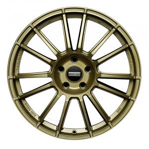 Cerchi in lega  Fondmetal  9RR  19''  Width 9.50   5x112  ET 42.00  CB 75.0 Ring Seat    Glossy Gold