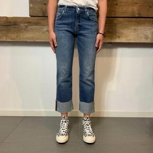 Jeans Department 5 Dry Con Risvolto Denim Blu
