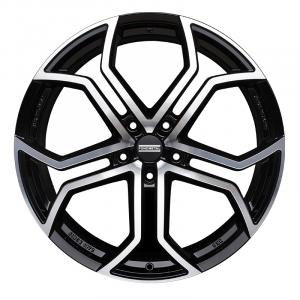 Cerchi in lega  Fondmetal  9XR  20''  Width 9.00   5x114.3  ET 35.00  CB 75.0 Ring Seat    Glossy Black Machined