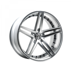 Cerchi in lega  AXE  EX20  22''  Width 10.5   5x115  ET 38  CB 74.1    Silver Polished Face & Barrel