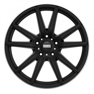 Cerchi in lega  Fondmetal  STC-10  20''  Width 9.00   5x114.3  ET 37.00  CB 75.0 Ring Seat    Matt Black Diamond Cut Lip