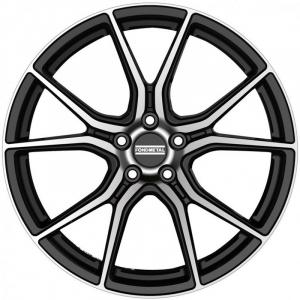 Cerchi in lega  Fondmetal  STC45  20''  Width 9.00   5x114.3  ET 38.00  CB 70.65    Glossy Black Machined