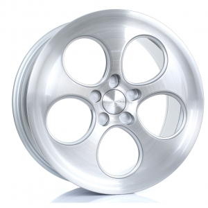 Cerchi in lega Bola  B5  18''  Width 9.5   5X130  ET 40 TO 45  CB 72,6  Silver Brushed Polished Face