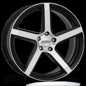 Cerchi in lega  DOTZ  CP5 dark  18''  Width 8,5   5x120  ET 35  CB 72,6    Black/polished