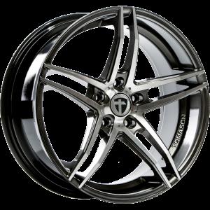 Cerchi in lega  TOMASON  TN12  18''  Width 8,5   5x120  ET 35  CB 72,6    Dark hyper black polished