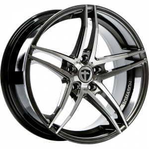 Cerchi in lega  TOMASON  TN12  19''  Width 8,5   5x112  ET 45  CB 66,5    Dark hyper black polished