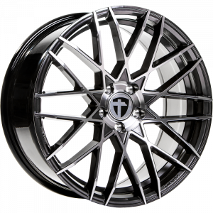 Cerchi in lega  TOMASON  TN19  20''  Width 8,5   5x112  ET 45  CB 72,6    Dark Hyper black polished