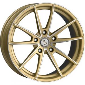 Cerchi in lega  DELUXE  Manay-K  20''  Width 9   5x120  ET 35  CB 65,1    Matt Gold Full Polish