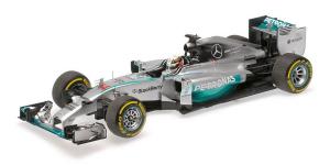 Mercedes AMG Petronas F1 Team Lewis  Hamilton Winner Abu Dhabi World Champion 2014 1/18