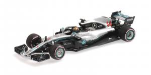 Mercedes AMG Petronas Motorsport Lewis Hamilton Practice Abu Dhabi 2018 1/43