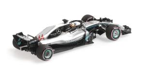 Mercedes AMG Petronas Motorsport Louis Hamilton Practice Abu Dhabi 2018 1/43