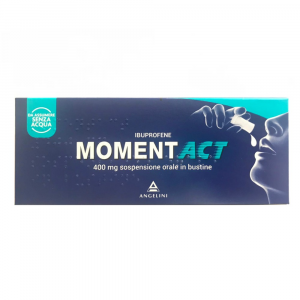 MOMENT TABLETS: ANTIINFLAMMATORY AND ANTIRHEUMATIC IBUPROFEN-BASED DRUG