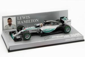 Mercedes AMG Petronas F1 Team Lewis Hamilton USA GP 2015 1/43