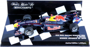 Red Bull Racing Renault RB6 Sebastian Vettel Winner Japanese GP 2010 1/43