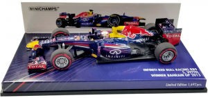 Infiniti Red Bull Racing RB9 Sebastian Vettel Winner Bahrain 2013 1/43