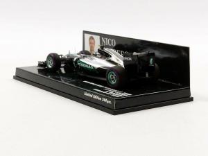 Mercedes AMG Petronas F1 Team F1W07 Hybrid Nico Rosberg Monaco GP 2016 1/43