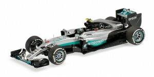 Mercedes AMG Petronas F1 Team F1W07 Hybrid Nico Rosberg Winner Australian GP 2016 1/43