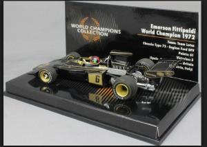 Emerson Fittipaldi World Champion 1972 Team Lotus Type 92 1/43