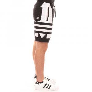 Adidas Costume da Bagno Black/White da Uomo