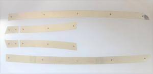 IVECO S WAY Profili spoiler laterali con perni, realizzato in acciaio lucido