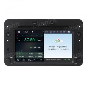 ANDROID 10 autoradio navigatore per Alfa Romeo 159 Alfa Romeo Spider Alfa Romeo Brera GPS DVD WI-FI Bluetooth MirrorLink