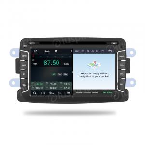 ANDROID 10 autoradio navigatore per Dacia Duster Logan Sandero Dokker Lodgy Renault Duster GPS DVD WI-FI Bluetooth MirrorLink