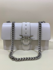 SHOPPING ON LINE BORSA CLASSIC SIMPLY  PINKO CON TRACOLLA A CATENA NEW COLLECTION WOMEN'S SPRING SUMMER 2020