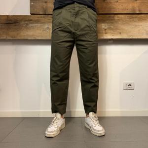 Pantalone Sike Gabardine Verde Oliva