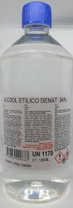 Alcool Etilico Denaturato 94% - 1 Litro
