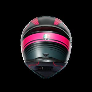 Casco AGV K1 Warm Up Black/Pink
