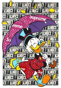 Donald Duck - Gomor - Stampa su tela