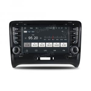 ANDROID 10 autoradio 2 DIN navigatore per Audi TT 2006-2012 GPS DVD WI-FI Bluetooth MirrorLink
