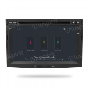 ANDROID 10 autoradio 2 DIN navigatore per Peugeot Partner 3008/5008 Citroen Berlingo GPS DVD USB SD WI-FI Bluetooth Mirrorlink