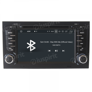 ANDROID 10 autoradio 2 DIN navigatore per Audi A4, Audi S4, Audi RS4, Seat Exeo GPS DVD WI-FI Bluetooth MirrorLink