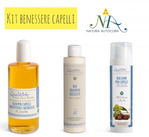 Kit Benessere Capelli -20% con codice: naturautocura
