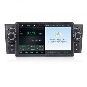 ANDROID 10 autoradio navigatore per Fiat Grande Punto 2006 - 2011 GPS DVD WI-FI Bluetooth MirrorLink