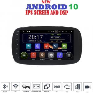 ANDROID 10 autoradio navigatore per Smart Fortwo W453 Smart ForFour 2014 - 2020 GPS WI-FI Bluetooth MirrorLink