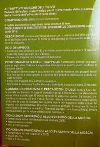Attrattivo Mosche Dell'Olivo Gr 40