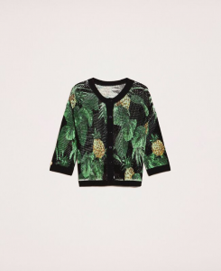 SHOPPING ON LINE TWINSET MILANO MAGLIA-CARDIGAN PUNTO RETE NEW COLLECTION WOMEN'S SPRING SUMMER 2020