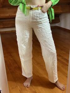 Jeans con multi strappi Vicolo Taglia M