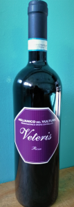 AGLIANICO DEL VULTURE DOC- VETERIS - ANNATA 2017 - VOL. 14.50%