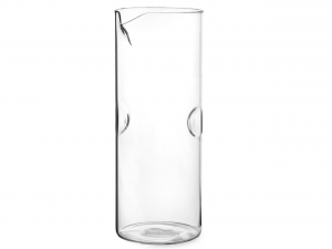 Brocca fingers in vetro borosilicato lt 1,25 cm.23h diam.9