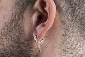 Mono orecchino con pendente Nautical Rope Giacomo Burroni
