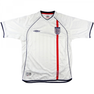 2001-03 Inghilterra Maglia Home L  (Top)