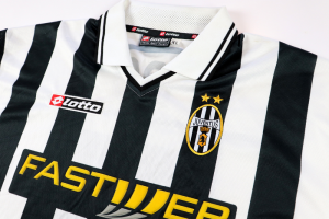 2001-02 Juventus Maglia Match Issue Home XL IPO (Top)