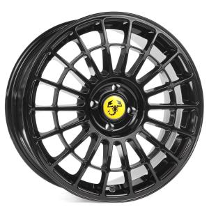Cerchi in lega  GRANDE PUNTO Dedica Fiat  17''  Width 7,5   4x100  ET 35  CB 73,1    Black