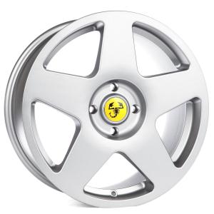 Cerchi in lega  GRANDE PUNTO Dedica Fiat 17''  Width 7,5   4x100  ET 35  CB 73,1    Hyper Silver