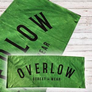 Gym Towel Overlow OVERLOW - Verde